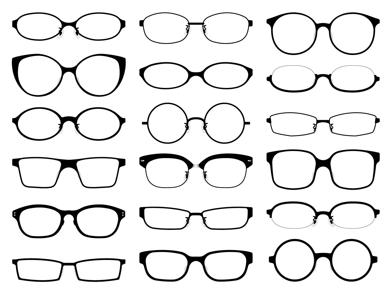 メガネとヘアの関係性は超絶妙♪