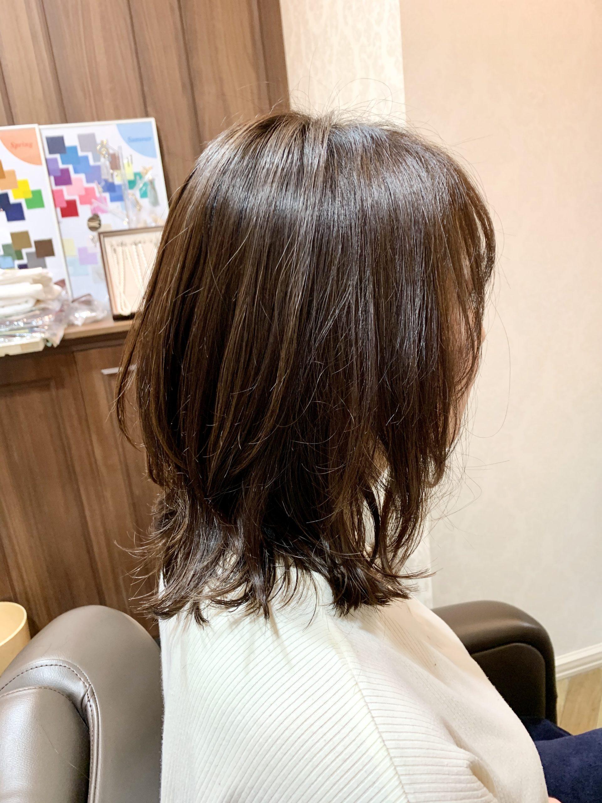 【春夏のヘアカラーは透けカラー?!】